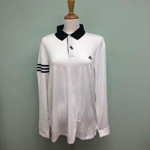 Adidas | Men's Long Sleeve Golf Polo Shirt